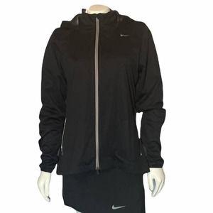 Nike Golf black hooded windbreaker M